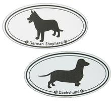 Euro Style Dog Breed Magnets