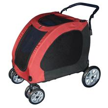 Expedition Dog Stroller - Burgundy
