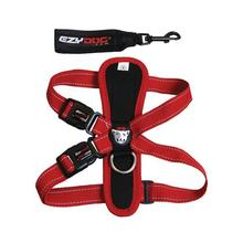 EzyDog Chest Plate Dog Harness - Red