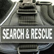 EzyDog Custom Side Patches for Convert Harness - Search & Rescue