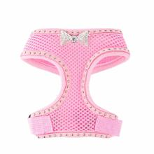 Fabuleash Boo Collection Bowties Dog Harness - Pink