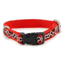 Fido Finery Dog Collar - Rolling Bones