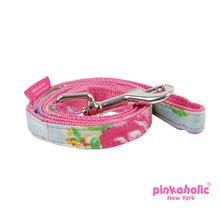 Fiore Dog Leash by Pinkaholic - Pink