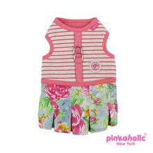 Fiore Flirt Dog Harness Dress by Pinkaholic - Pink