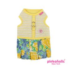 Fiore Flirt Dog Harness Dress by Pinkaholic - Yellow