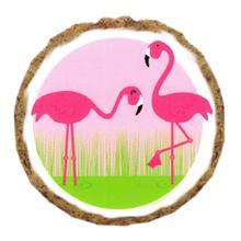 Flamingo Dog Treat Cookie