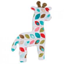 Floppy Giraffe Stuffing-Free Dog Toy - Garland