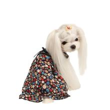 Floret Sleeveless Dog Dress by Puppia - Navy