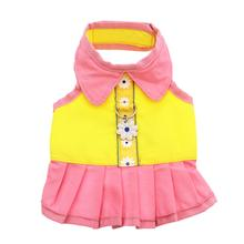Flower Dress Harness by Doggles - Yellow