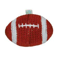 Football Crochet Dog Toy by Dogo