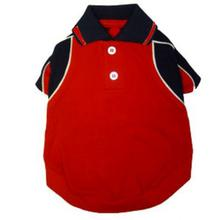 Forever Red Polo Dog Shirt