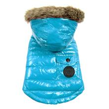 Foucler Dog Coat - Ocean Blue