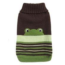 FouFou Animal Dog Sweater - Frog