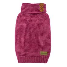 FouFou Crochet Dog Sweater - Pink