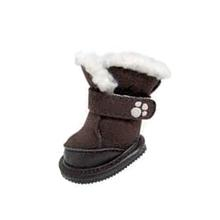FouFou Duggz Dog Shoes - Chocolate Brown