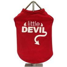 FouFou Slogan Dog Tank - Little Devil