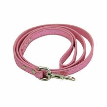 Foxy Glitz Dog Leash - Pink