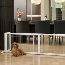 Free Standing Pet Gate - Origami White
