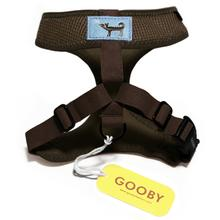Freedom Dog Harness by Gooby - Brown