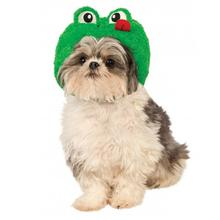 Frog Hat Dog Costume