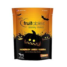 Fruitable Skinny Minis Dog Treat - Pumpkin Spice