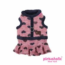 Gallant Flirt Dog Harness by Pinkaholic - Wine