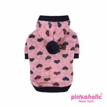 Gallant Hooded Dog Shirt by Pinkaholic - Wine