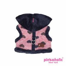 Gallant Pinka Dog Harness by Pinkaholic - Wine