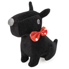 GGrriggles Sweetheart Scottie Dog Toy - Black