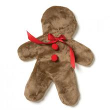 Ginger Holiday Dog Toy - Cappuccino
