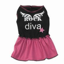 Ginger's Rock Diva Dress - Black/Hot Pink