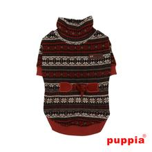 Glacial Dog Sweater by Puppia - Brown