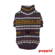 Glacial Dog Sweater by Puppia - Purple