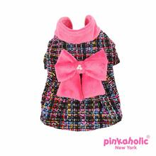 Glee Dog Dress Coat by Pinkaholic - Pink