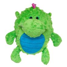GoDog Dragon Grunter Dog Toy - Green