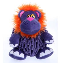 GoDog Mopz Dog Toy - Purple Lion