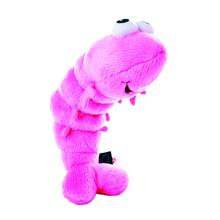 GoDog Shellfish Shrimp Dog Toy - Pink