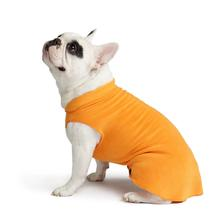 Gold Paw Fleece Dog Jacket - Pumpkin