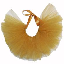 Gold Tulle Dog Tutu by Pawpatu