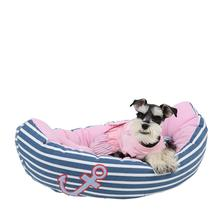 Gondola Dog Bed by Pinkaholic - Blue and Pink