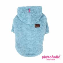 Goofy Hooded Dog Shirt by Pinkaholic - Aqua