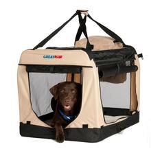Great Paw Lodge Soft Dog Crate