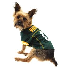 Green Bay Packers Officially Licensed Dog Jersey - Yellow Trim