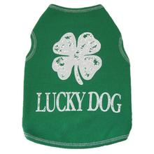 Green Lucky Dog Tank