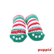 Grinch Dog Socks by Puppia - Green