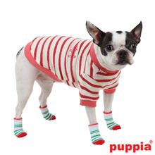Grinch Dog Socks by Puppia - Red