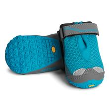 Grip Trex Dog Boots by RuffWear - Blue Spring with Gray Trim
