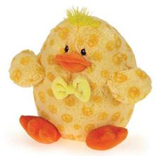 Grriggles Bowtie Buddies Dog Toy - Duck