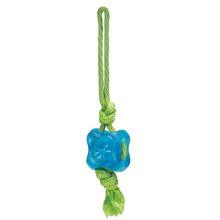 Grriggles FUNdamentals Treat Tugs Dog Toy - Bluebird
