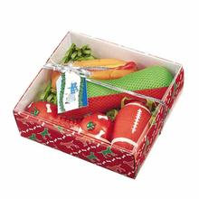 Grriggles Holiday Hound Gift Set - Red